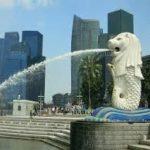 シンガポールのマーライオンの場所は?公園、お土産、大きさは?日本にも?